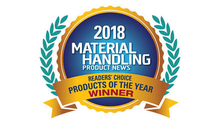 Material Handling Product News Readers' Choice Products of the Year Winner!