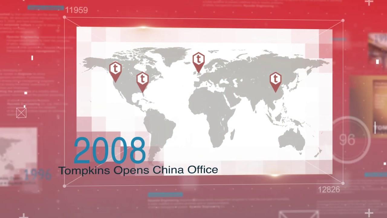 Tompkins International Has History